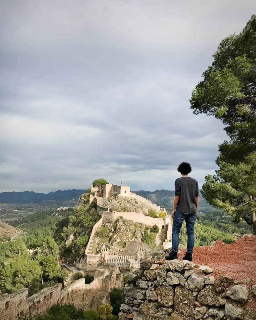 Xativa Castle, a day trip from Valencia