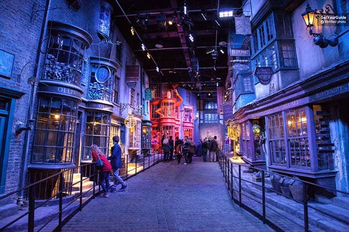 Harry Potter Set at the Warner Bros Studio