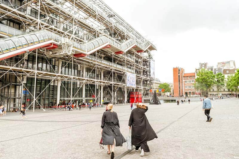 Pompidou Center, the richest national art musem in Europe