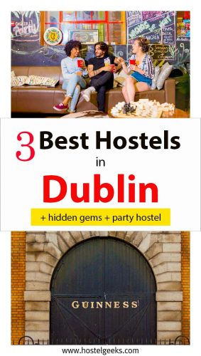 Best Hostels in Dublin guide for packpackers