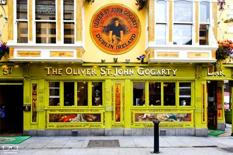 Oliver St. John Gogarty is the Best Party Hostel in Dublin, Ireland