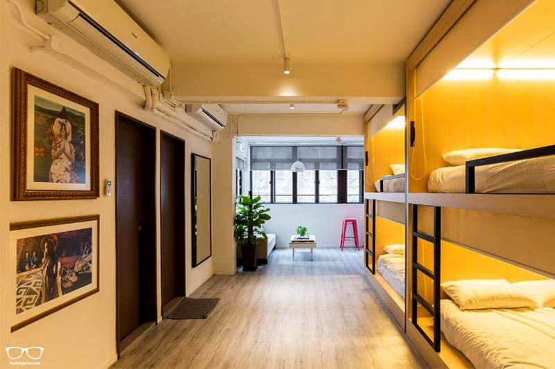 The Mahjong one of the Best Hostels in Hong Kong