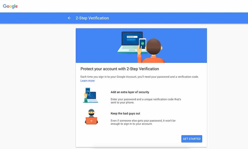 Two Step Verification - annoying but really powerful!