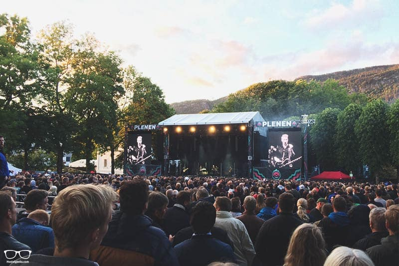 Bergenfest is one of the top things to do in Bergen, Norway