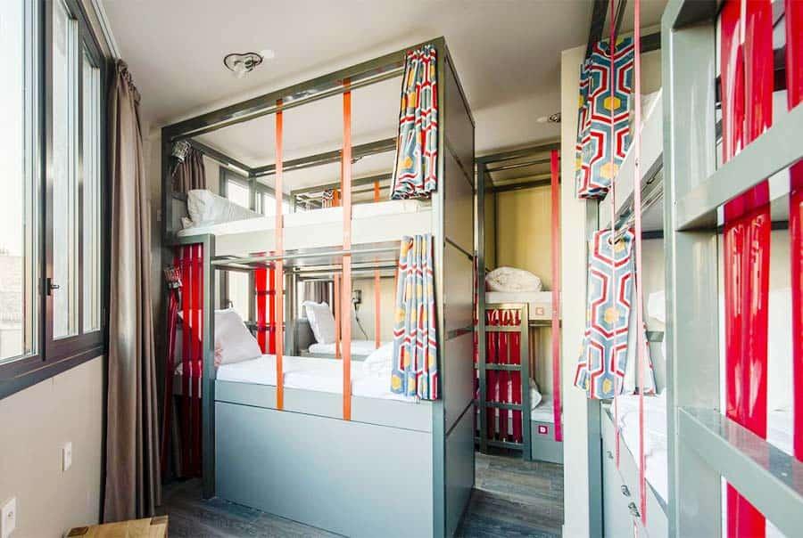 Best Hostels in paris for solo-travellers: L