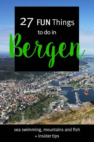 FUN Things to do in Bergen, Norway - a full list