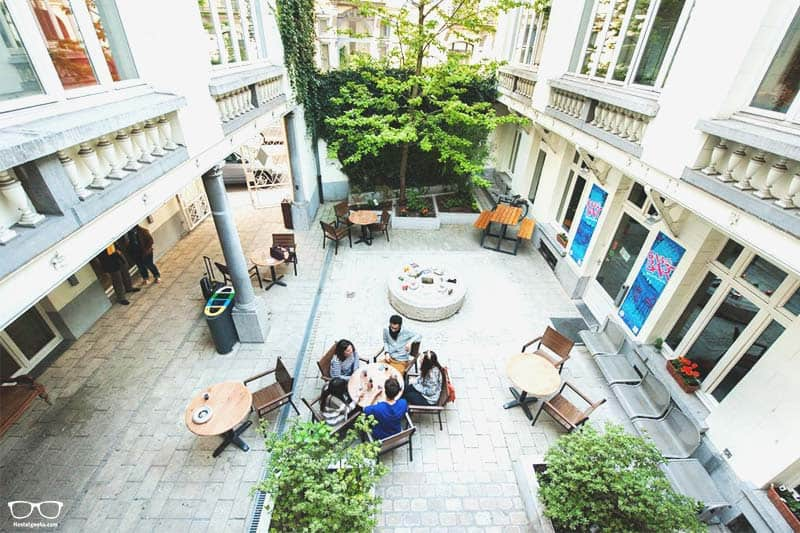 Jacques Brel Youth Hostel is one of the best hostels in Brussels, Belgium