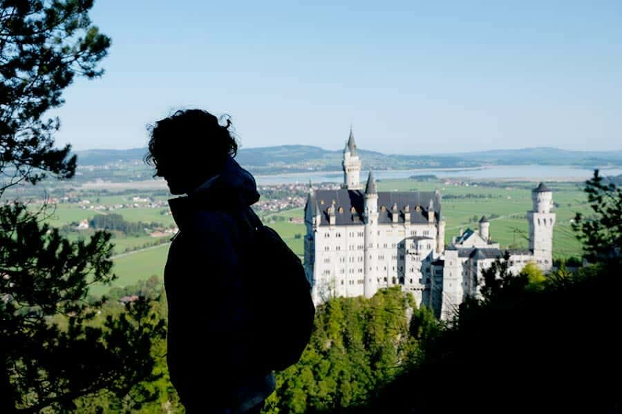 Backpacking Neuschwanstein Castle - a good idea!