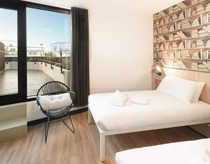 Best Hostels in Paris for Couples: Generator comes with own roof top terrace