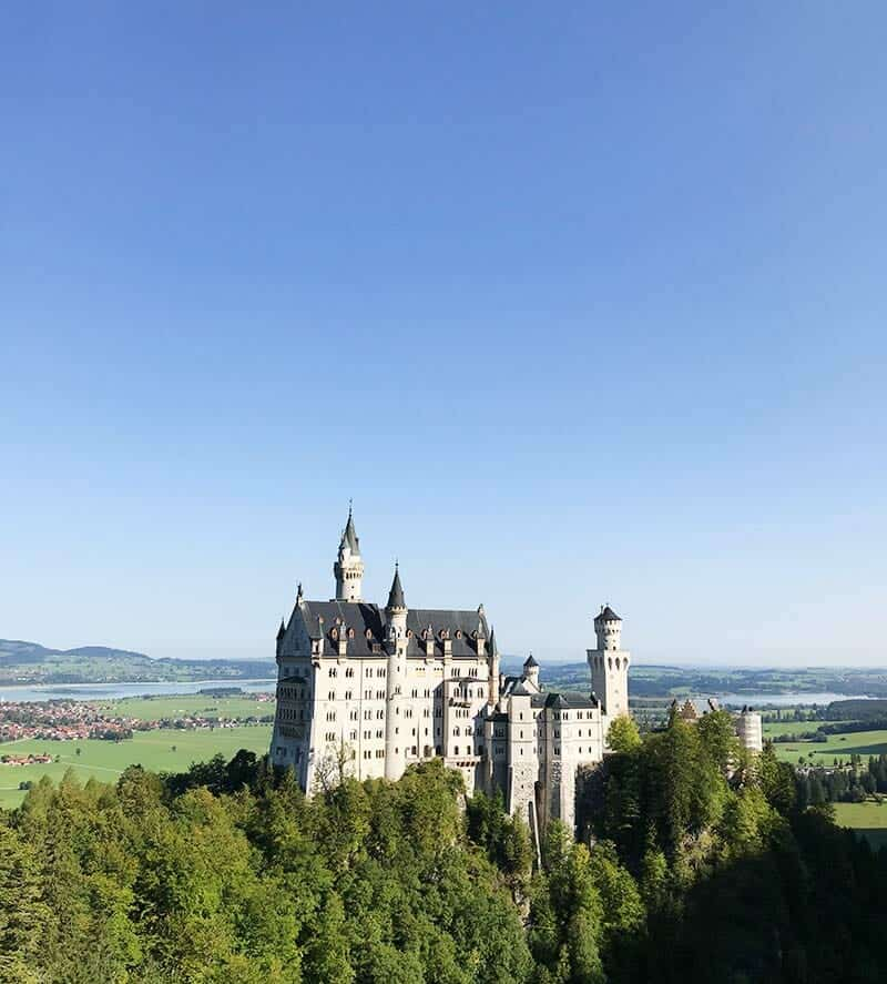 Schloss Neuschwanstein in its glory