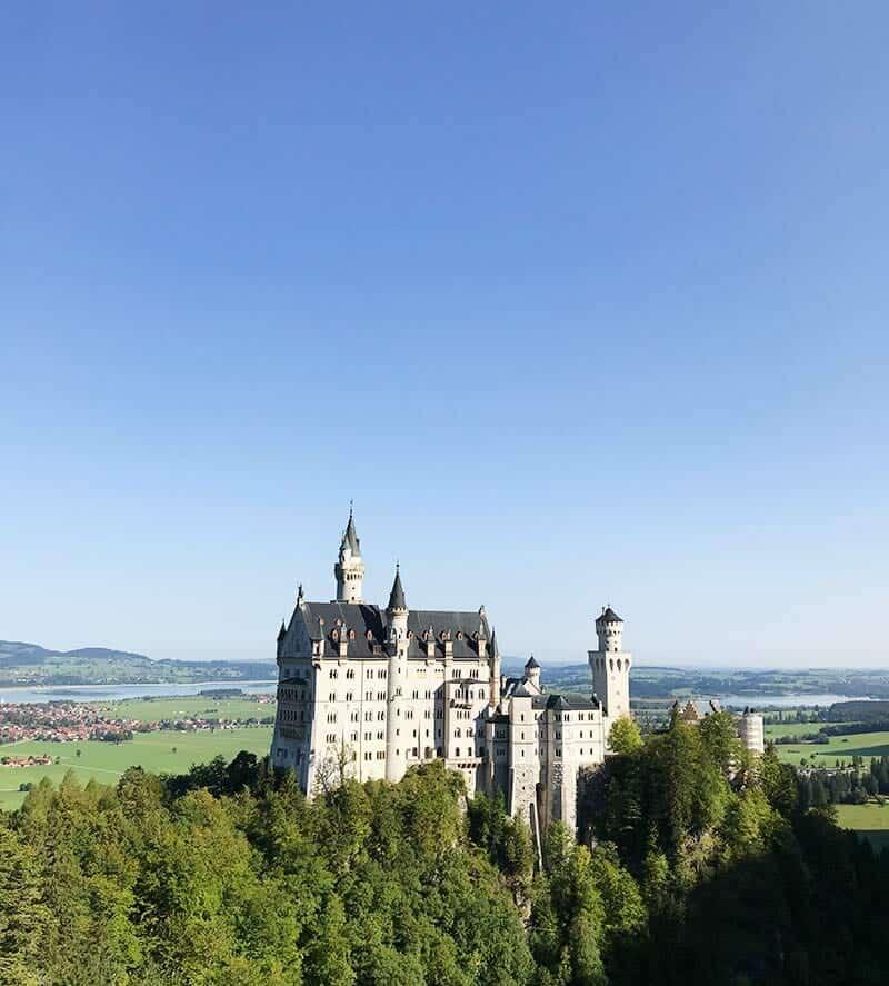 Schloss Neuschwanstein in its glory