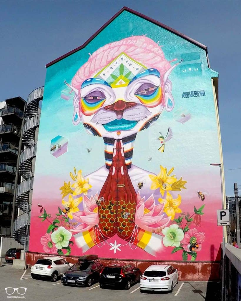Locating Street Art is one of the top things to do in Bergen, Norway