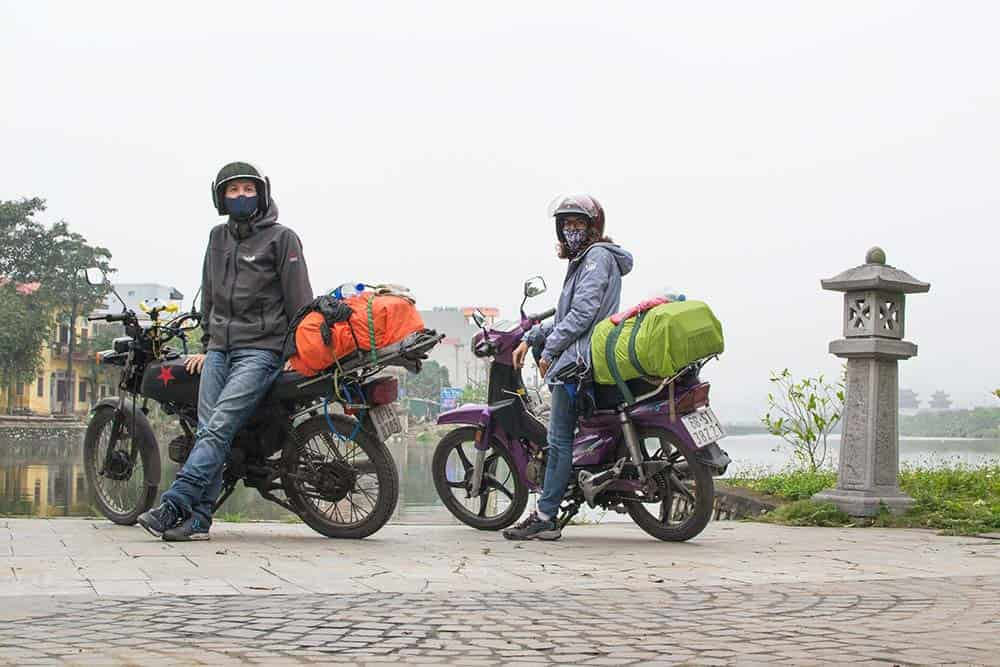 On a motorbike through Vietnam - Travel Insurance is a good idea before starting!