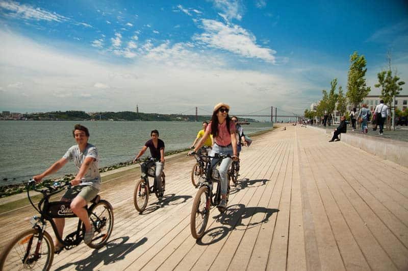 Bike tour in Lisbon