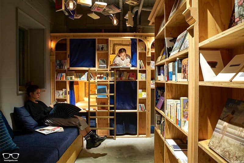Book And Bed Tokyo-Kyoto one of the Best Hostels in Kyoto, Japan