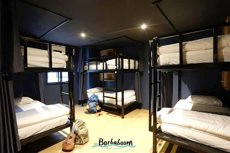 Borbaboom Poshtel one of the best hostel in Phuket, Thailand
