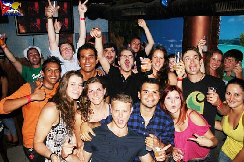 Pub Crawl in lisbon - one of the party things to do in Lisbon