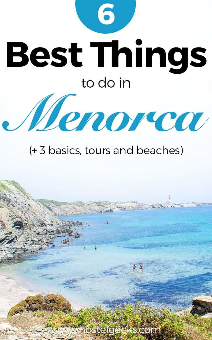 9 SECRET Things to do in Menorca 2020 (Paella, Beaches + ...