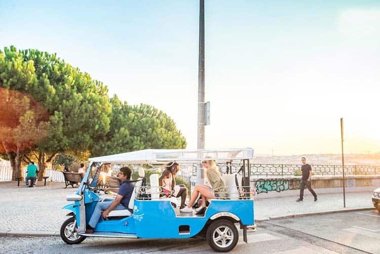 Tuk Tuk Tour in Lisbon