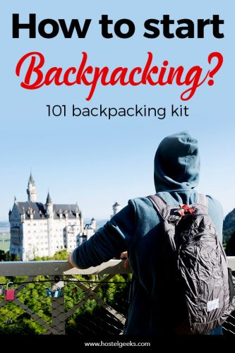 Backpacking Kit for starters - No Borders Bundle