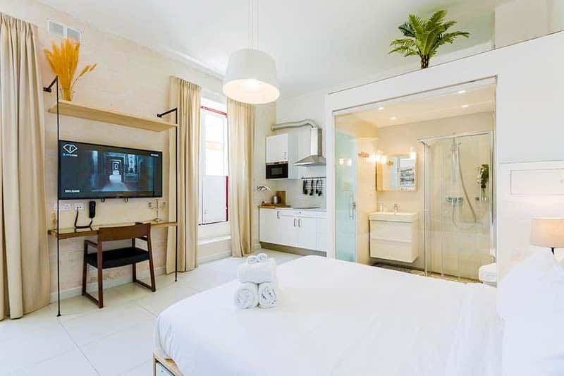 The Superior Suite at Two Pillows Hostel - the answer to Where to stay in Malta