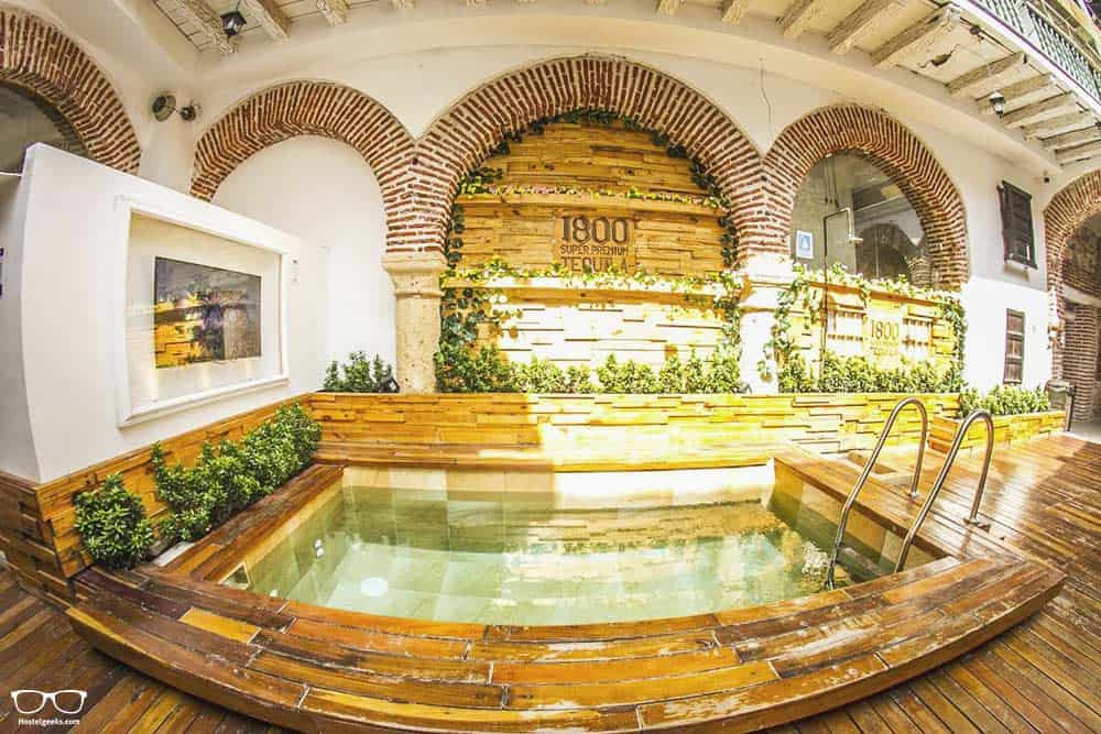 Where to stay in Cartagena? St Bourbon hostel