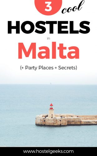 3 Best Hostels in Malta - Mediterranean Lifestyle meets Hostel Luxury (and a Secret Camping Spot)