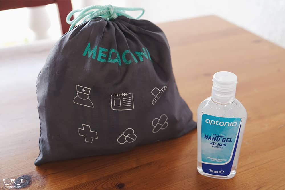 Backpacking kit: don't forget your medicines
