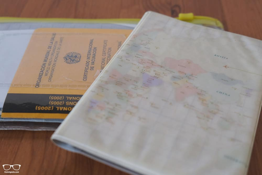 Passport and documents, the #1 essential for your backpacking travel career