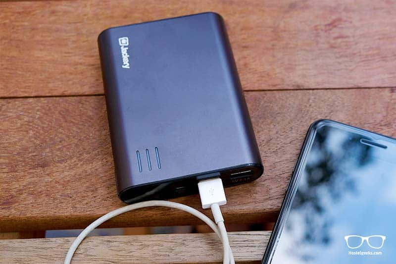 Power Bank - another essential backpacking item