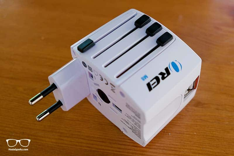 Traveling Abroad? Take an adapter with you!