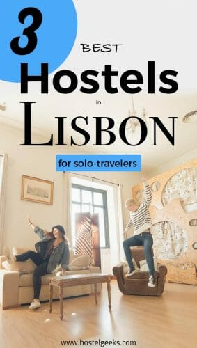 3 best hostels in Lisbon