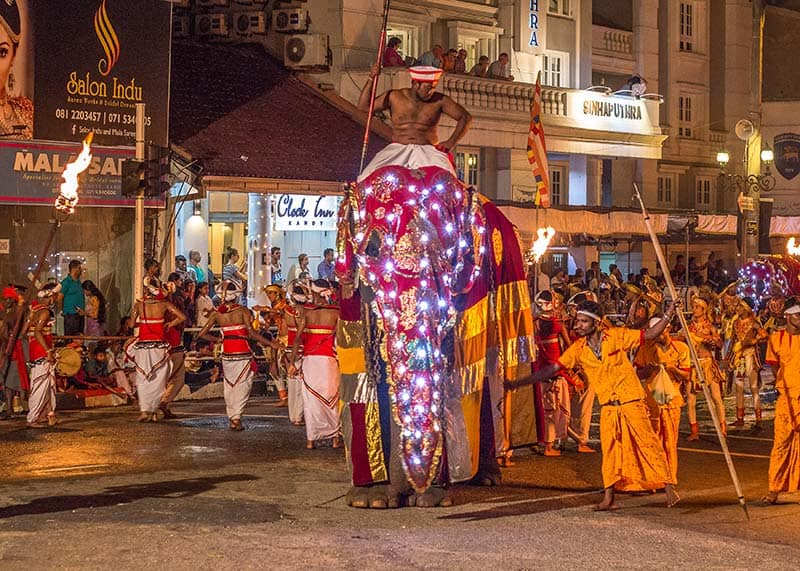 Esala Perahera Festival in Kandy Sri Lanka