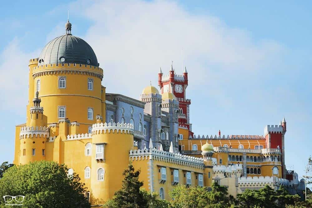 Sintra, the colorful palace near Lisbon