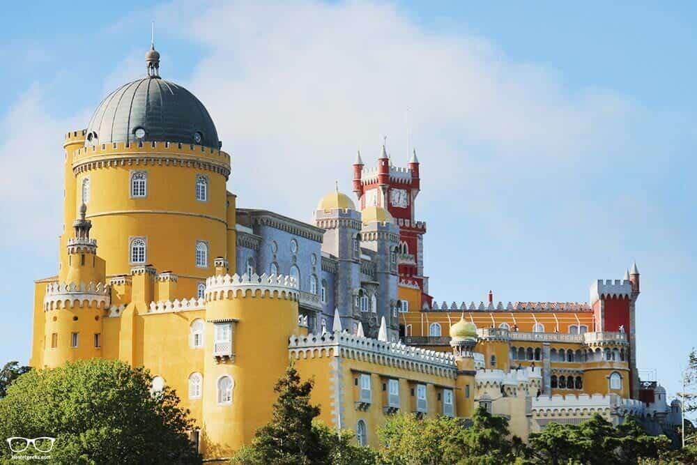 Sintra, the colorful palace near Lisbon