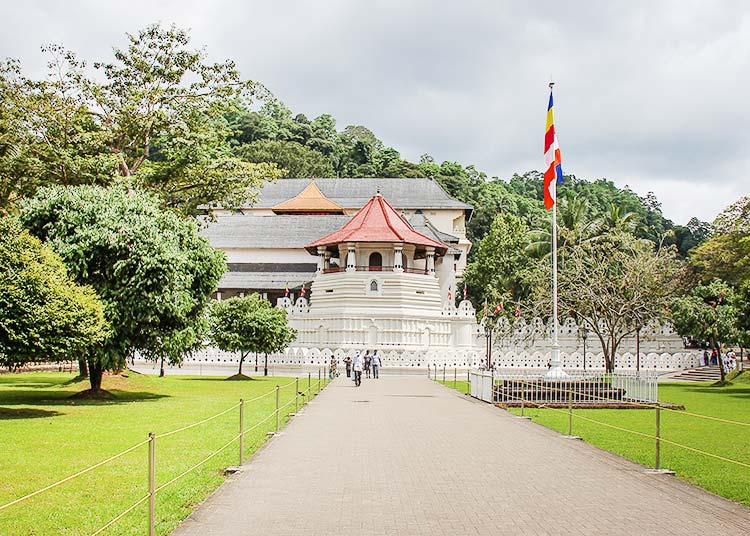 Royale Palaca in Kandy, Sri Lanka