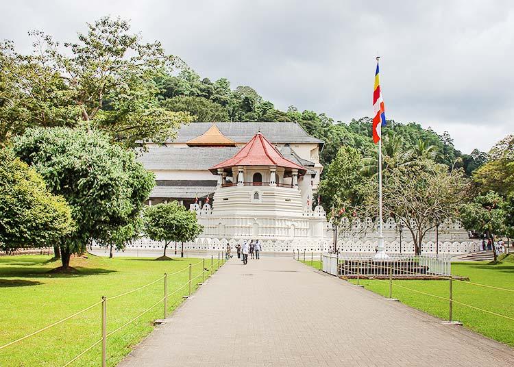 Royale Palaca in Kandy, Sri Lanka