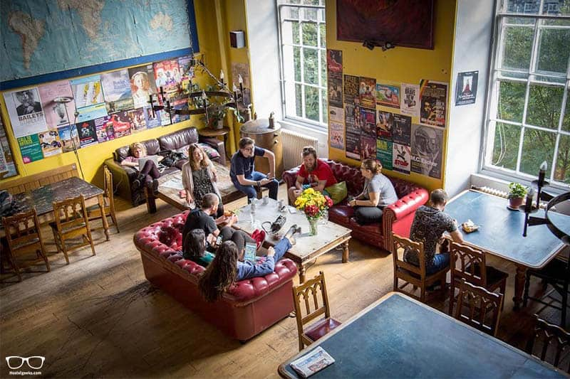 One of the best hostels in Edinburgh Scotland: Castle Rock Hostel