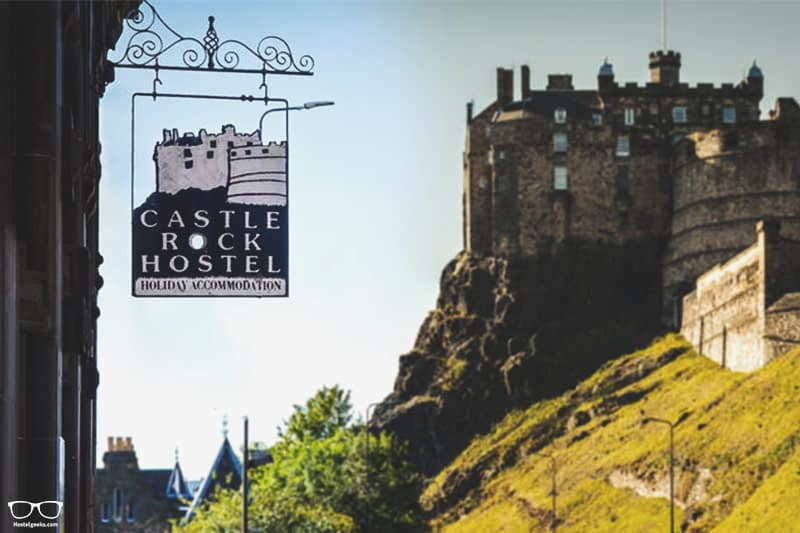 Castle Rock Hostel one of the best hostels in Edinburgh, UK