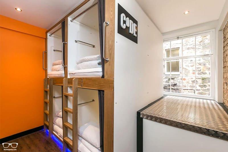 CODE Pod Hostel one of the best hostels in Edinburgh, Scotland