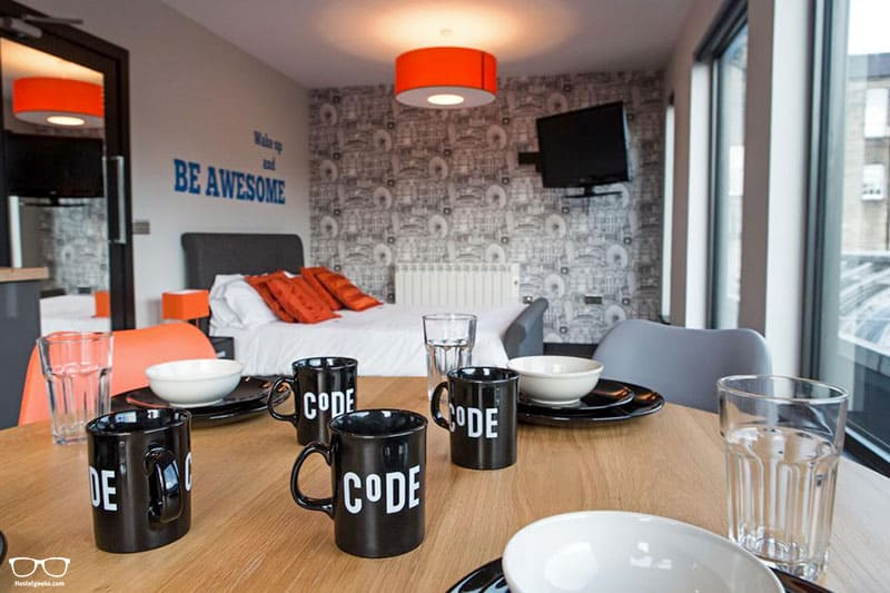 CODE Pod Hostel one of the best hostels in Edinburgh, Scotland