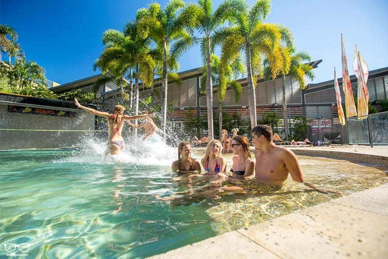 Gilligan's Backpacker Hotel & Resort one of the best hostels in Cairns, Australia