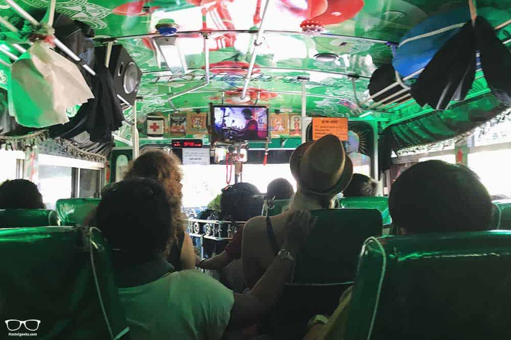 Local bus in Sri Lanka