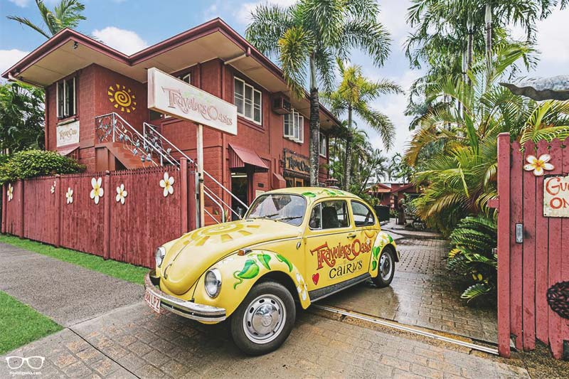 Travellers Oasis one of the best hostels in Cairns for backpackers