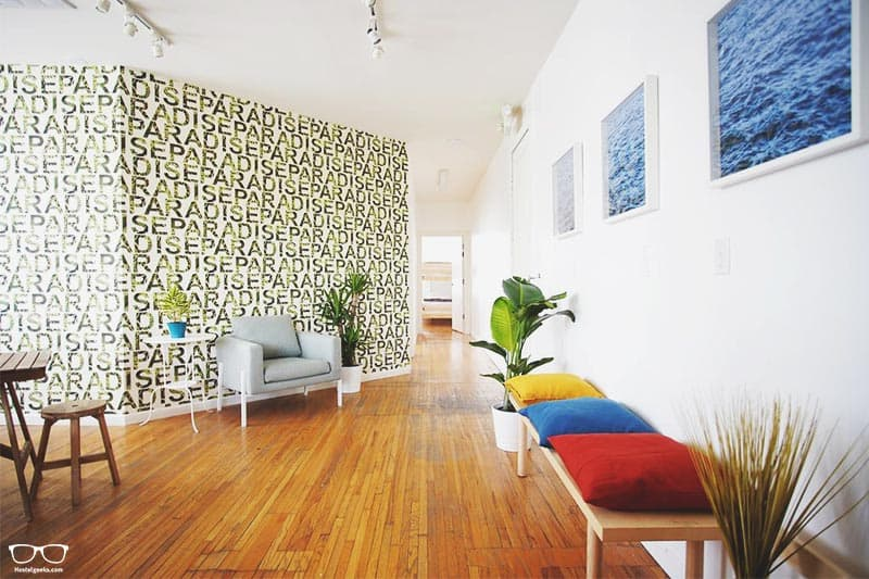 Tropic Hollywood one of the best hostels in Los Angeles, USA