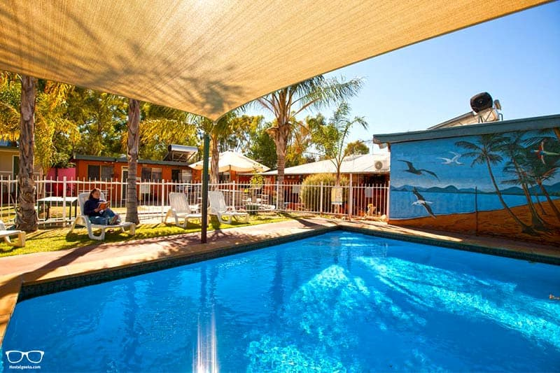 Alice Lodge Backpackers one of the best hostels in Alice Springs, Australia
