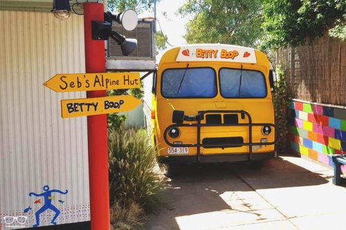 Alice's Secret Travellers Inn one of the best hostels in Alice Springs, Australia