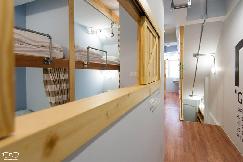 Barn & Bed Hostel one of the best hostels in Bangkok, Thailand