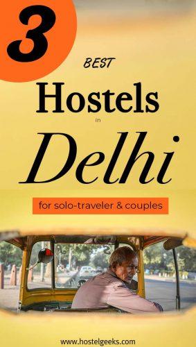 Best Hostels in Delhi, India