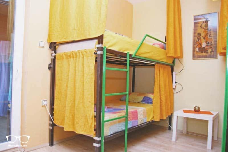 Dorms at Shanti Hostel in Skopje